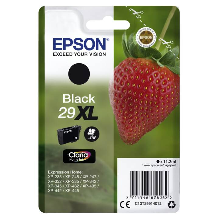 EPSON Claria Home Ink 29XL nero