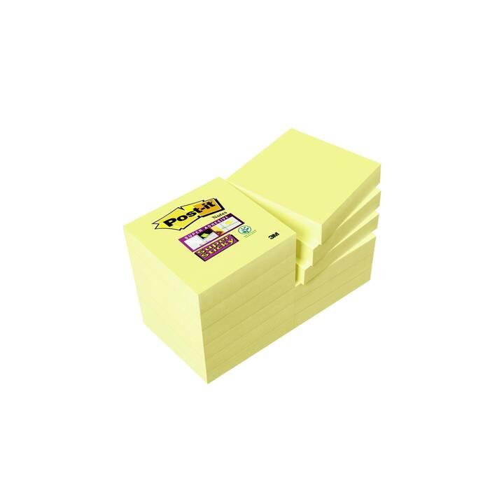 3M Notes autocollantes Post-it (Vert, Orange, Jaune, Pink)