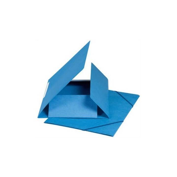 Cartella elastica BIELLA A4 blu