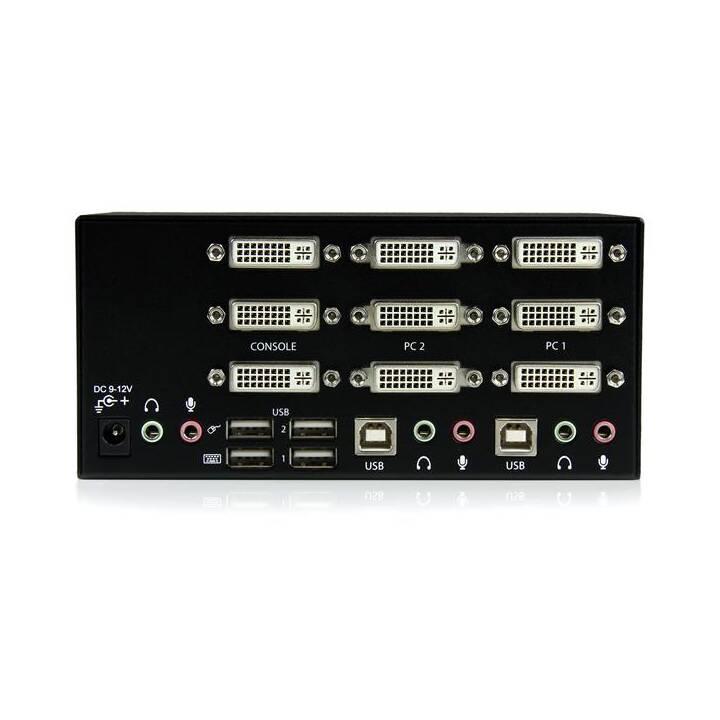 STARTECH.COM KVM Switch SV231TDVIUA