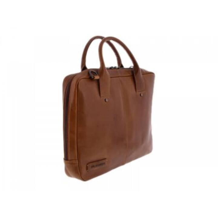 FUJITSU Messenger Bag (35.6 cm, Marrone)