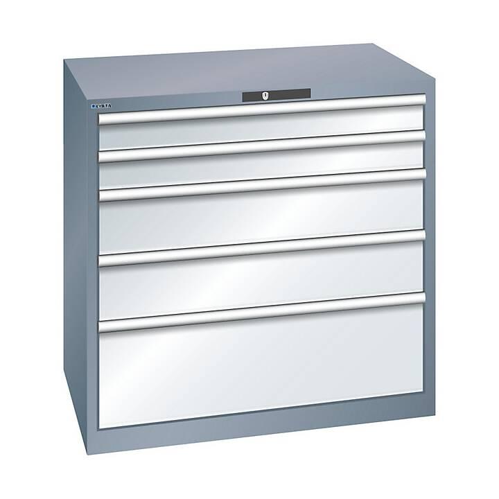 LISTA Tiroir armoire (Gris)