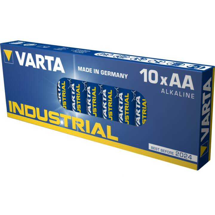 VARTA Batterie (AA / Mignon / LR6, 10 pièce)