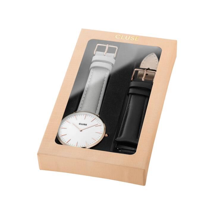 CLUSE La Bohème Giftbox (Analoguhr, 38 mm)