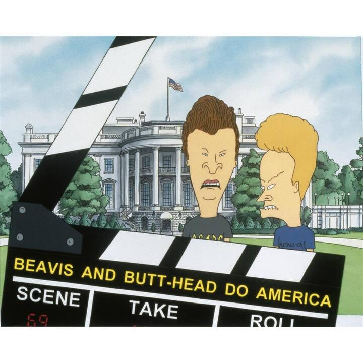 Beavis und Butt-Head machen's in Amerika (DE, EN)