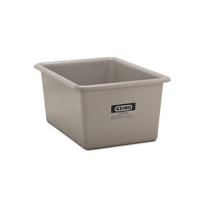 Großbehälter aus GfK, Inhalt 550 l,