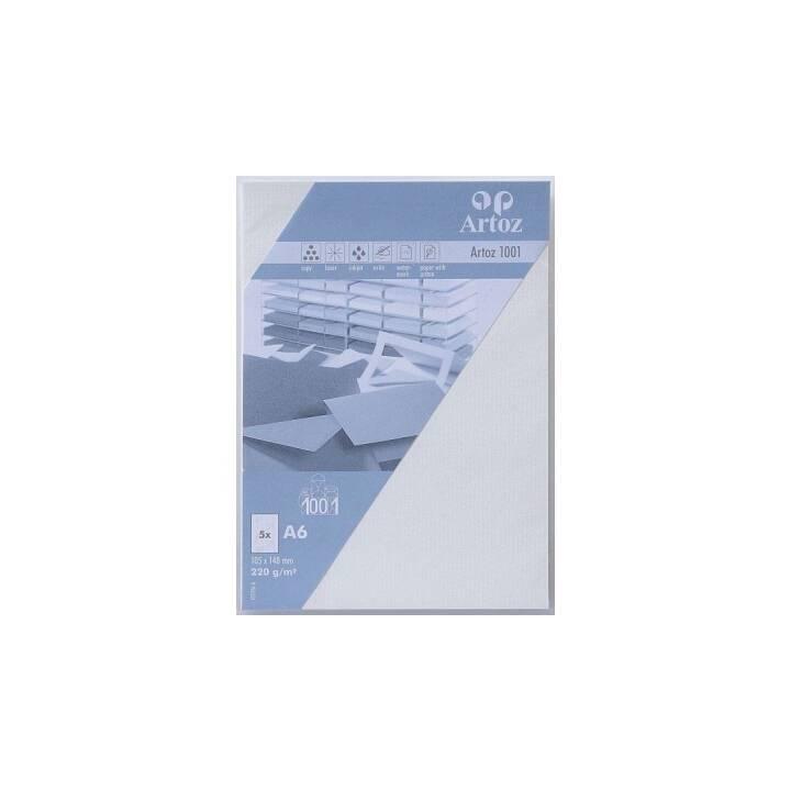 ARTOZ Cartes en blanc (Universel, A6, Blanc)