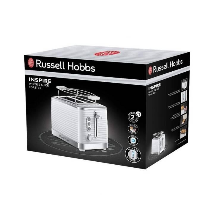 RUSSELL HOBBS Inspire (Bianco, Cromo)