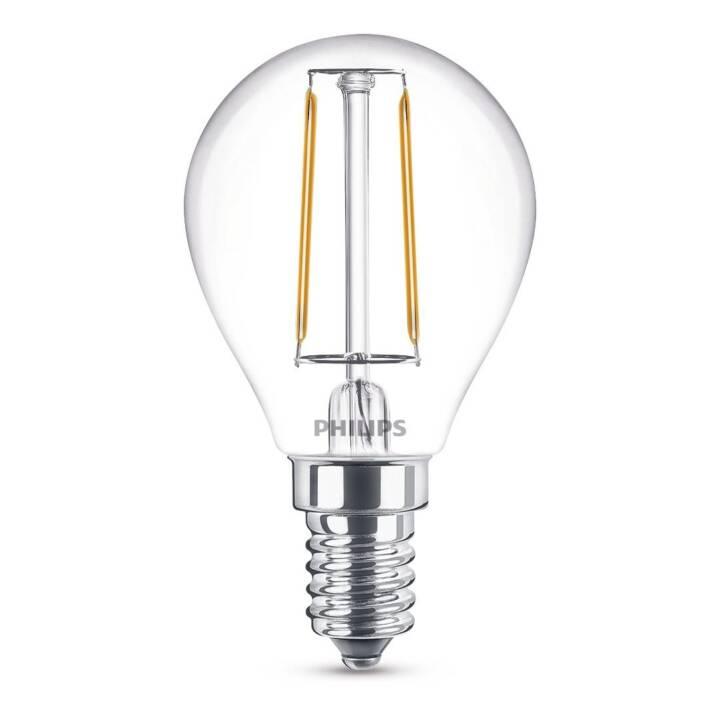 PHILIPS LED Birne Luster (E14, 2.3 W)