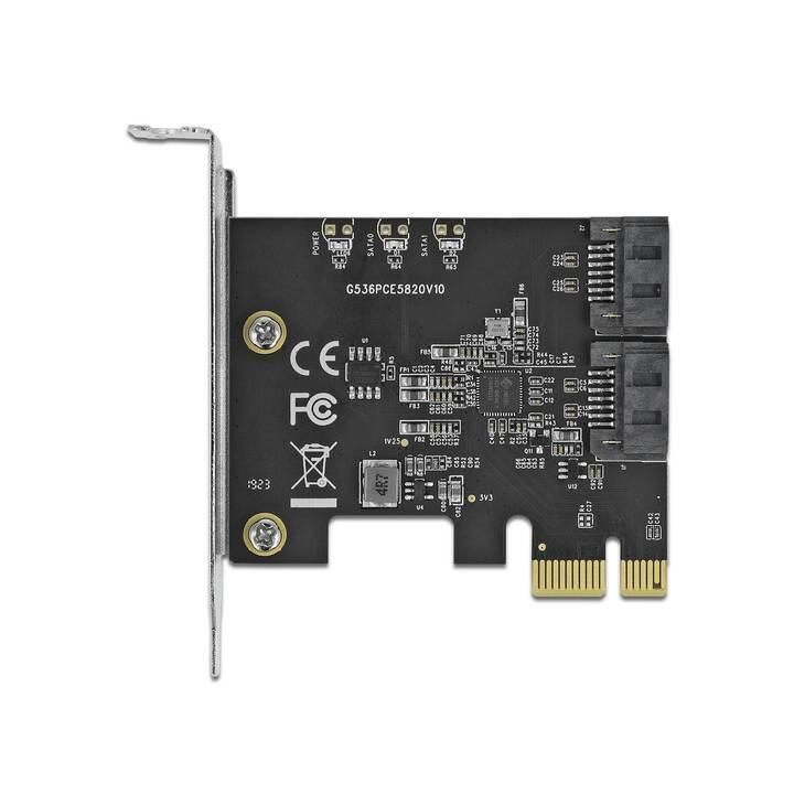 DELOCK Controller di archiviazione (PCI)