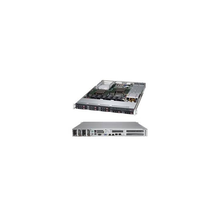 SUPERMICRO 1027R-72RFTP (Intel C602, 512 GB)