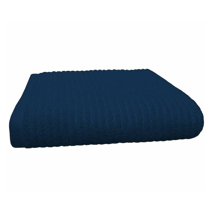 LIVIQUE Badematte Zoe (50 cm x 80 cm, Navy Blue)