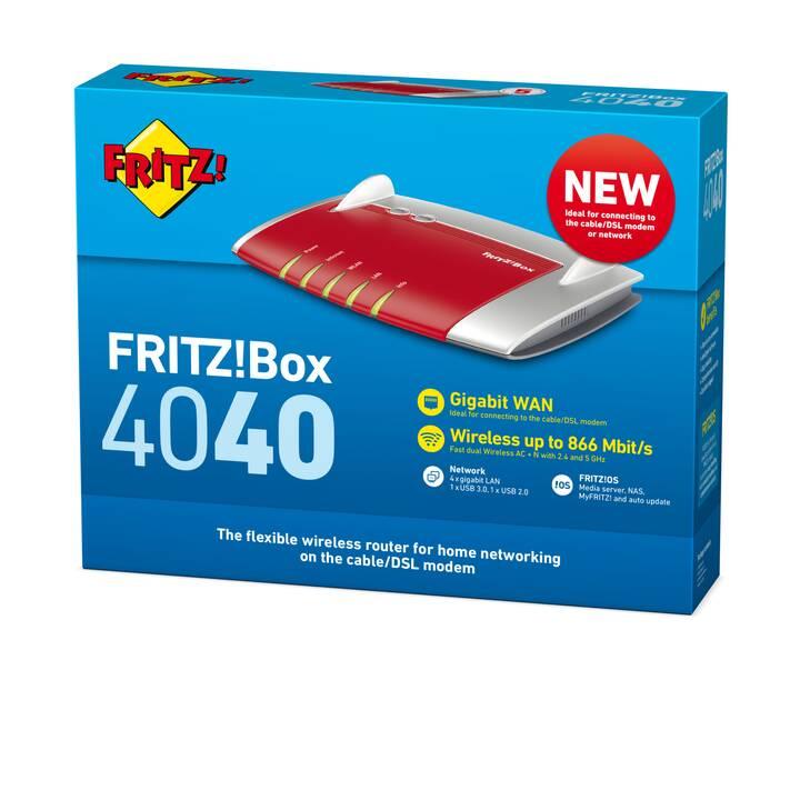 AVM FRITZ!Box 4040 International Routeur