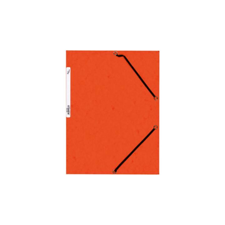Cartella elastica BÜROLINE A4 arancione