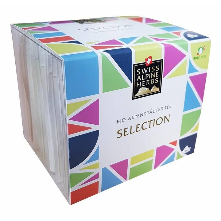 SWISS ALPINE HERBS Selection Tè d'erbe (Bustina di tè, 16 pezzo)