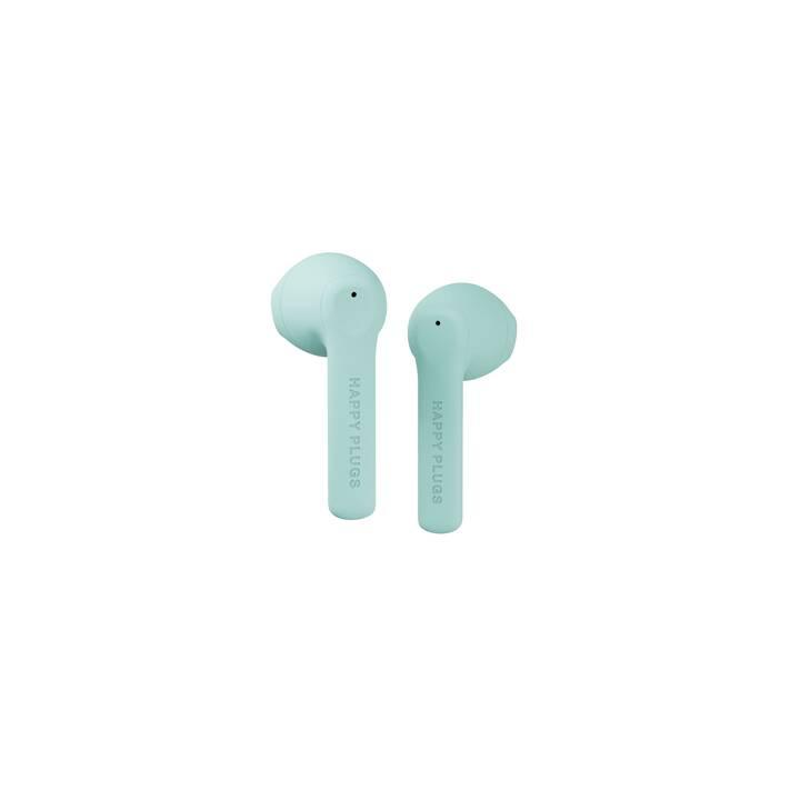 HAPPY PLUGS Air 1 Go (In-Ear, Bluetooth 5.0, Menta)