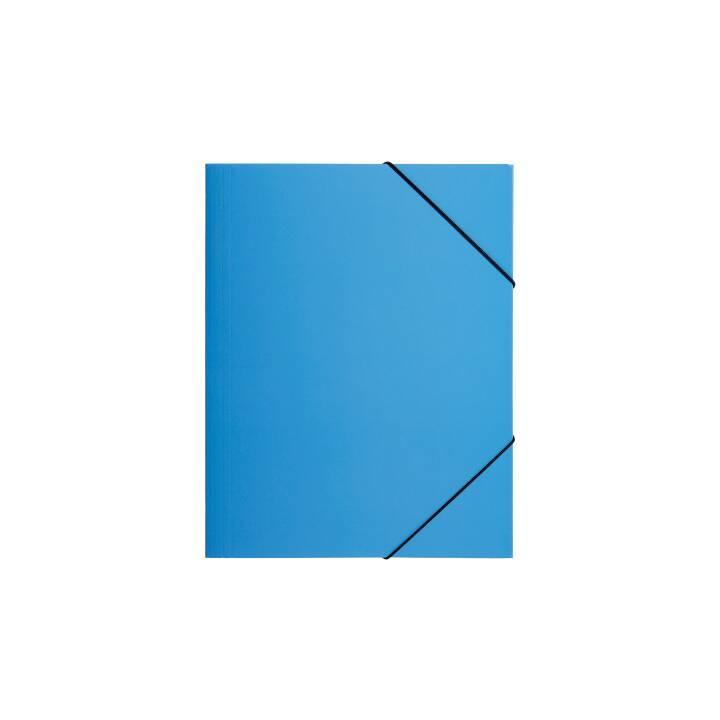 PAGNA chemise à élastique A4 bleu