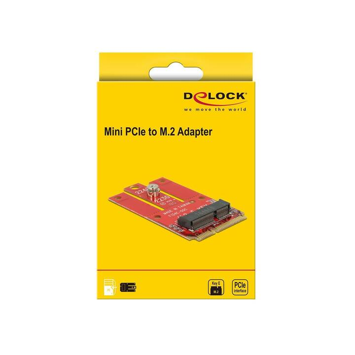 DELOCK Storage Controller (Mini PCI-Express)