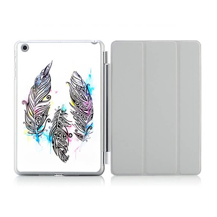 "EG iPad Hülle für Apple iPad 9.7 ""Air 2 - Feder malen"