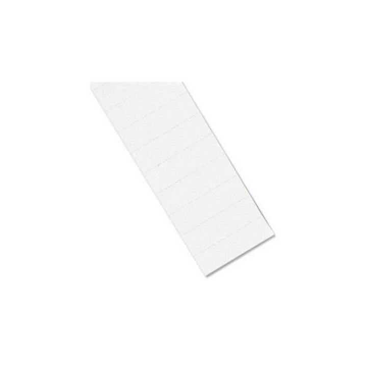 Bande magnétique BEREC, 10 mm x 30 cm, blanc, 6 pcs.