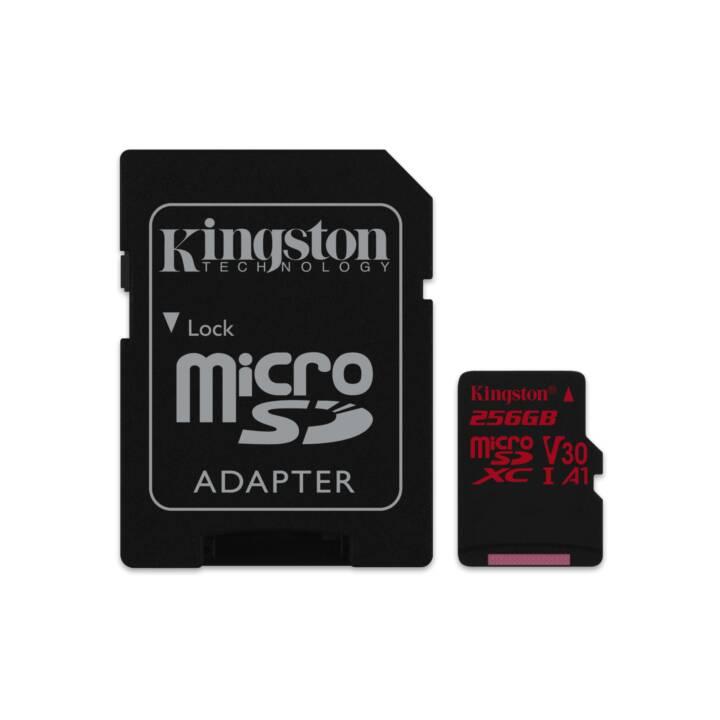 KINGSTON microSDXC-Karte Canvas React UHS-I U3 256 GB
