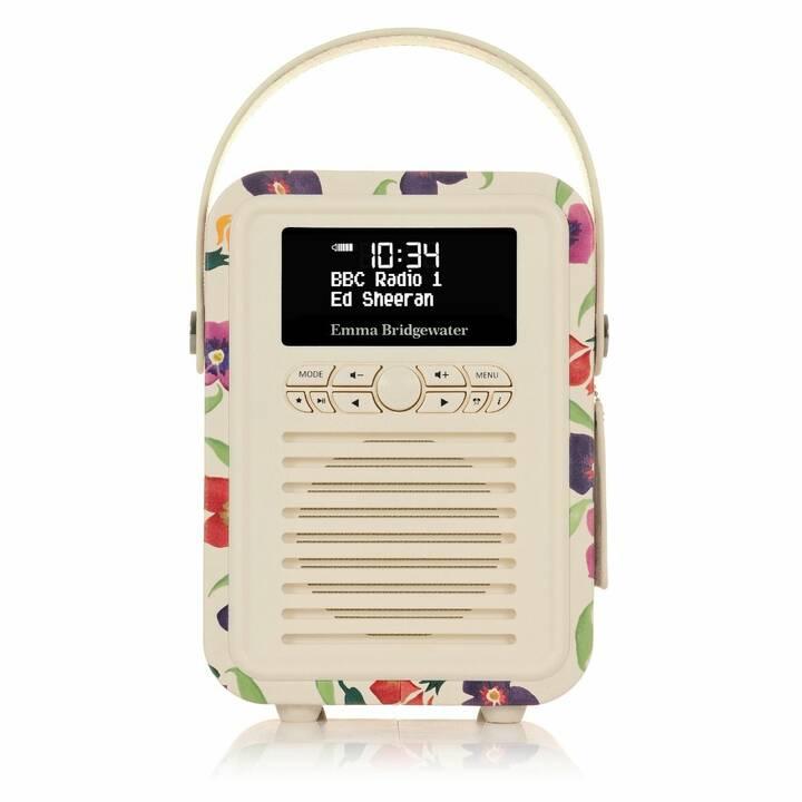VIEW_QUEST Retro Mini Radio per cucina / -bagno