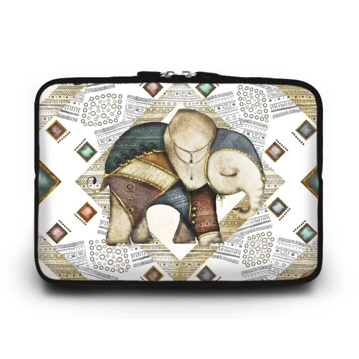 """EG HUADO Housse d'ordinateur portable pour 12"""" - Elephant"""