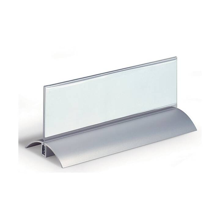 DURABLE Tischnamensschild Deluxe Acryl, 12 Stk.