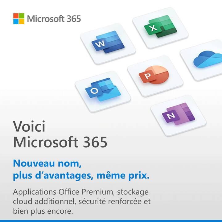 MICROSOFT 365 Personnel (Abbonamento, 1x, 1 anno, Francese)
