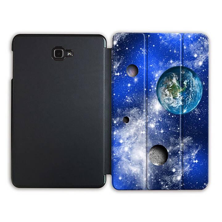 """EG MTT Tablet Tasche mit Smart faltbare Abdeckung für Samsung Galaxy Tab A 10.1"""" (2016)- Universum"""