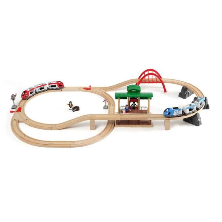 BRIO Set Treno Passeggeri Ferroviario BRIO
