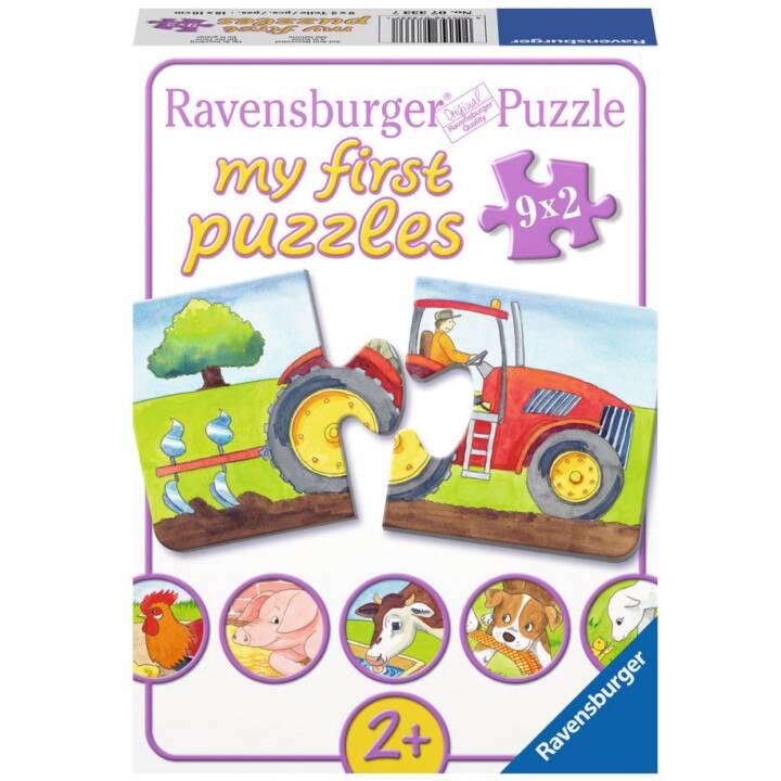 RAVENSBURGER sur la ferme Puzzle