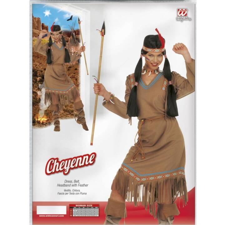 WIDMANN Indianerin, Gr. M, Costumes pour adultes