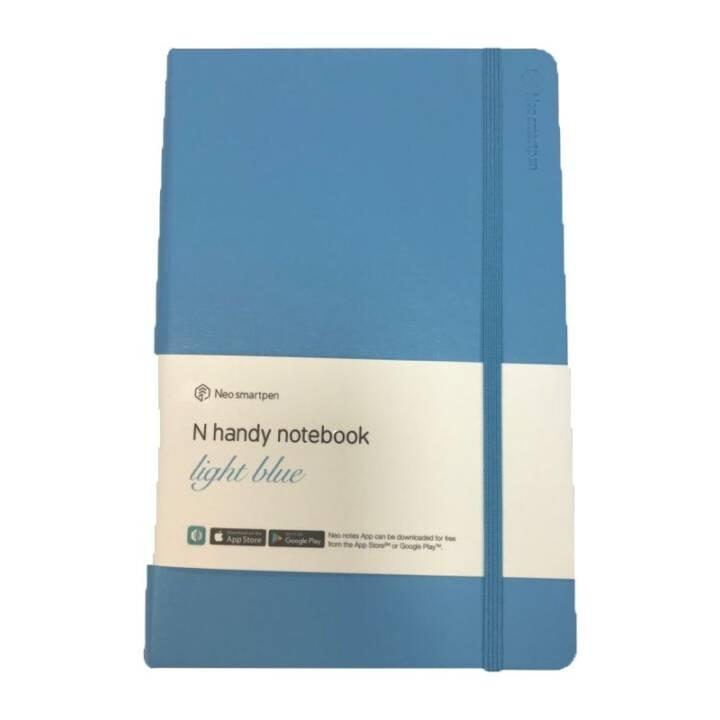 NEO.LAB notebook cellulare 11 x 18 cm, foderato, blu