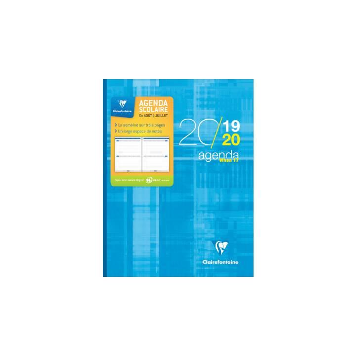 CLAIREFONTAINE Agenda scolastica 9899C (Mese)