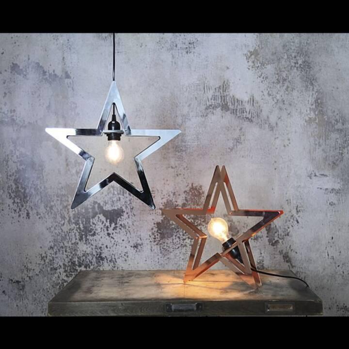 STAR TRADING Fensterobjekt Starling Kupfer