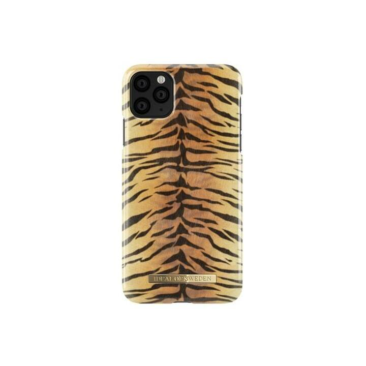 IDEAL OF SWEDEN Backcover Sunset Tiger (iPhone 11 Pro Max, Schwarz, Braun)