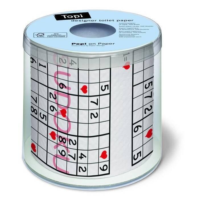 PAPIER + DESIGN Papier hygiénique Sudoku