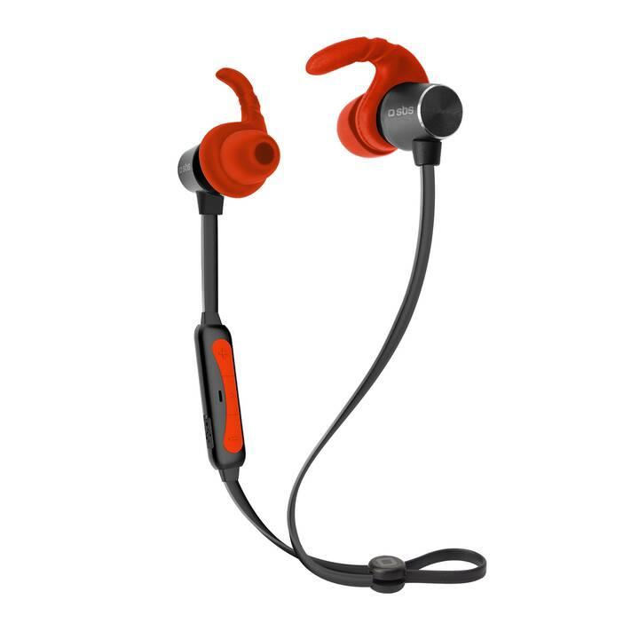 SBS  Headset BT501 (In-Ear, Bluetooth, Rouge)