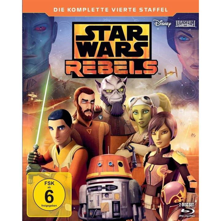 Star Wars Rebels Saison 4 (ES, DE, EN, FR)