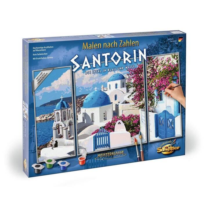 SCHIPPER Malen nach Zahlen Santorin