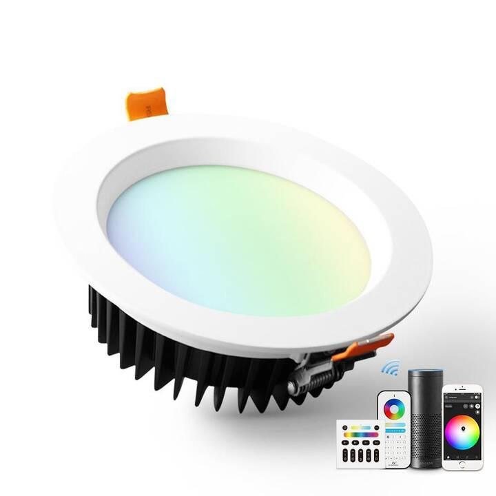 GLEDOPTO Einbauspots ZigBee Downlight (LED, 9 W)