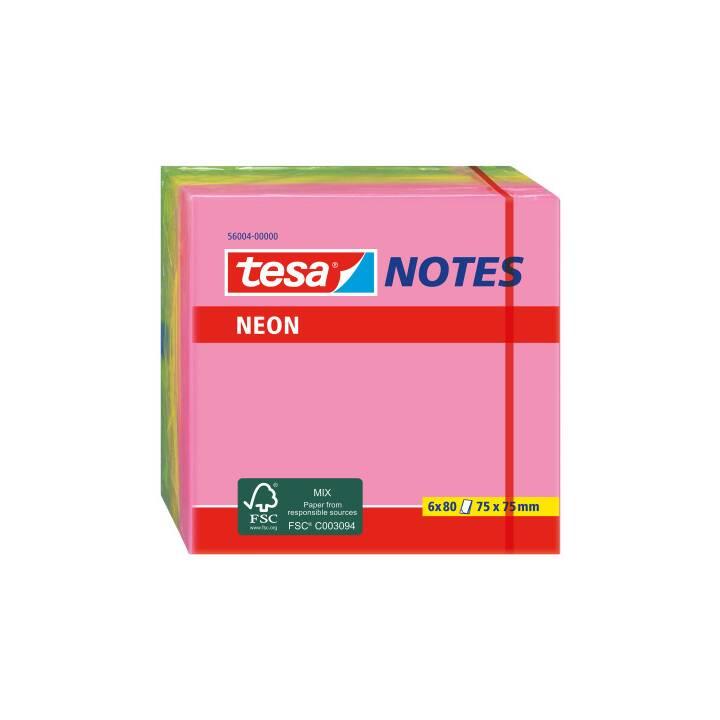 TESA Neon Notes 75x75mm 3 colori ass.