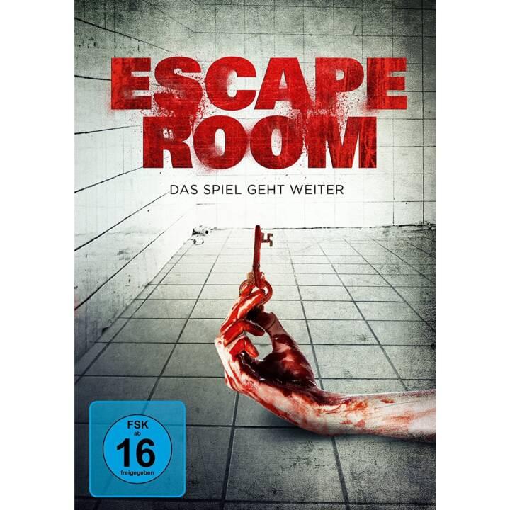 Escape Room - Le jeu continue