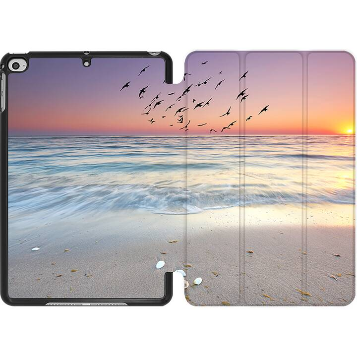 EG MTT Coque pour iPad Mini 4 (2015) et Mini 5 (2019) - Paysage marin