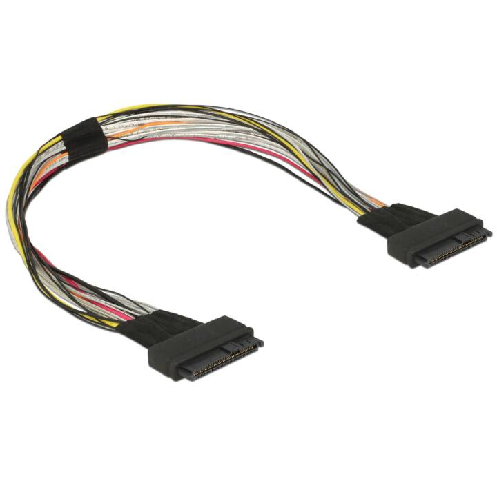DELOCK CI-E U.2 câble SFF-8639, 50 cm 50 cm 50 cm