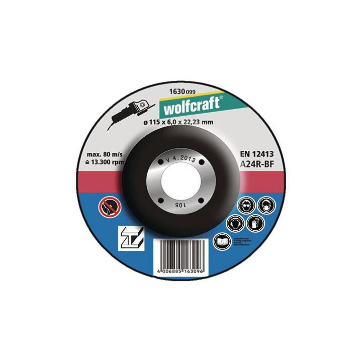 WOLFCRAFT Schruppscheiben (125 mm)
