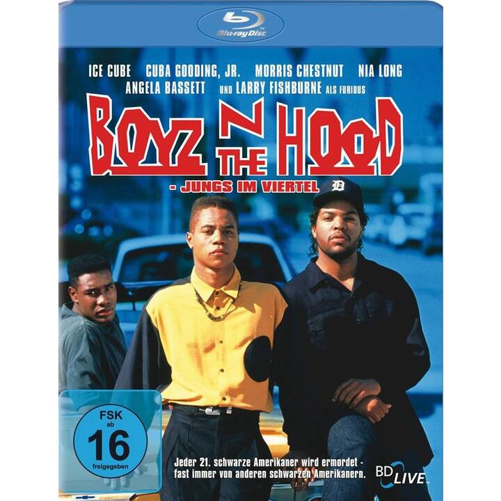 Boyz 'n the hood (IT, ES, PT, TH, DE, EN, FR)