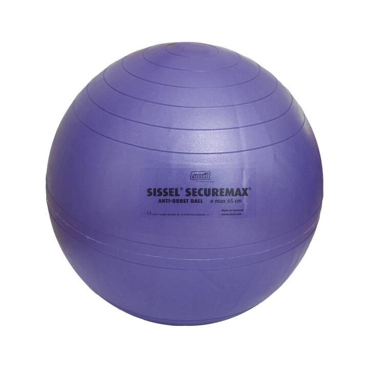 SISSEL  Ballon de gymnastique Securemax (45 cm, Bleu, Violet)