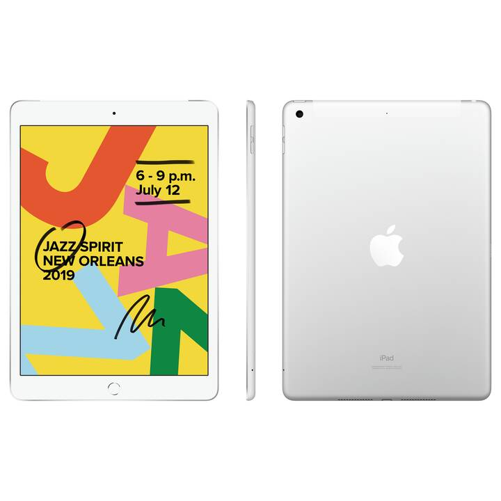 """APPLE iPad WiFi + LTE, 10.2"""", 32 GB, Silber (2019)"""